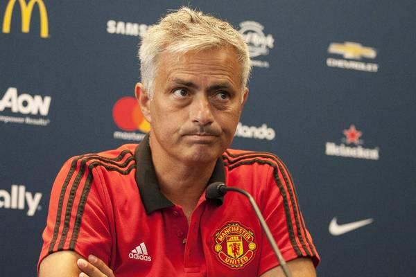 Mourinho en el Manchester United