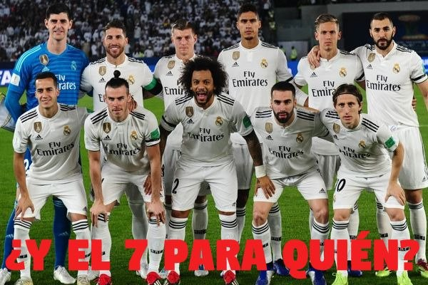 Real Madrid el 7