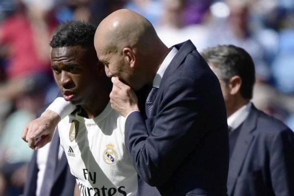 Vinicius y Zidane