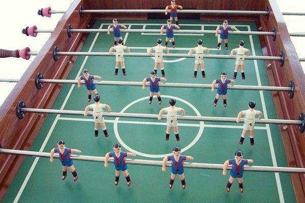 futbolin barça madrid