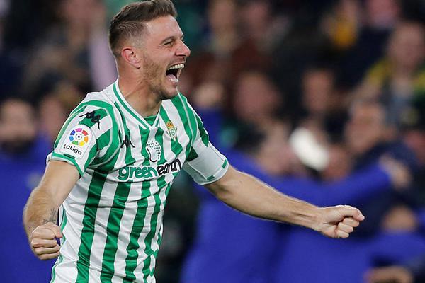 Joaquín es el emblema del Real Betis