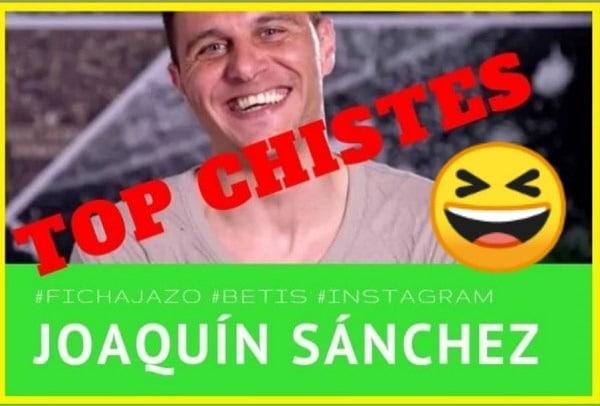 Los mejores chistes de Joaquín Sánchez (Betis)