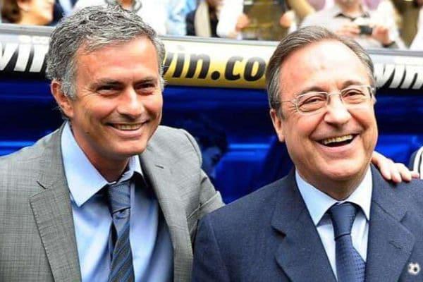 José Mourinho y Florentino Pérez