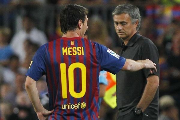 Jose Mourinho puede volver a encontrarse con Messi