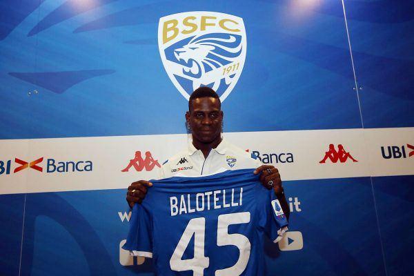 Mario Balotelli en el Brescia