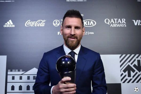 Leo Messi ganó el The Best