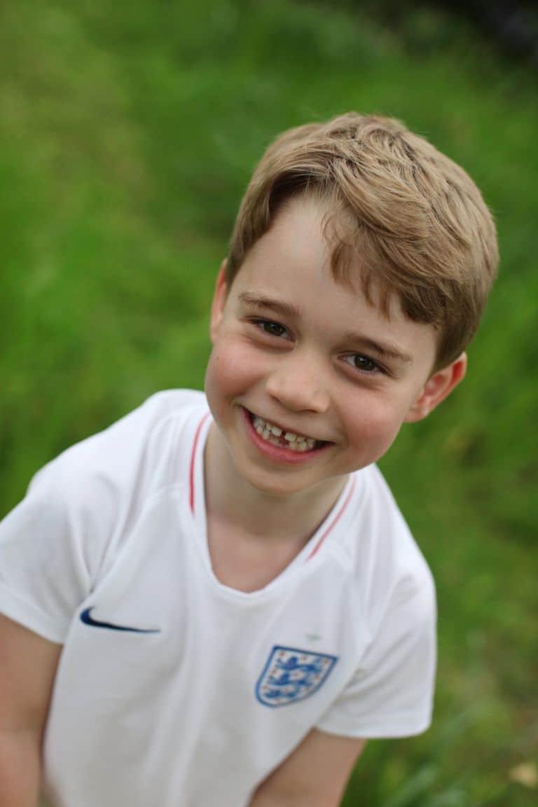 Príncipe George en su sexto aniversario