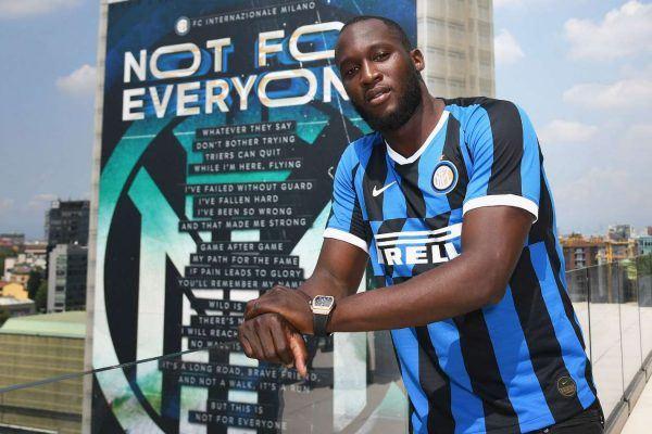 Romelu Lukaku en el Inter de Milán
