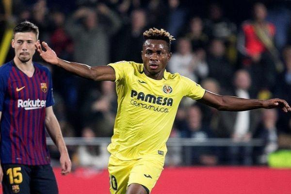Samu Chukwueze no tuvo su mejor partido ante el Barça de Ansu Fati