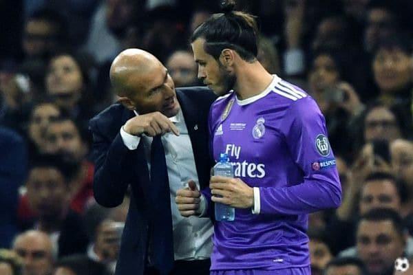 Zinedine Zidane y Gareth Bale