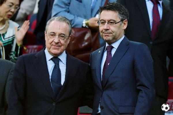 Florentino Perez y Bartomeu