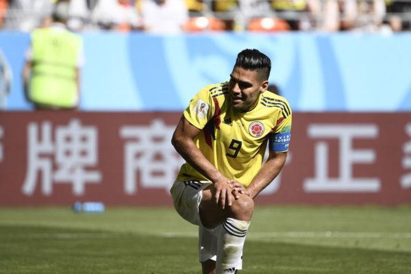 Falcao con Colombia