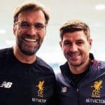 "Steven Gerrard se rinde a Klopp: ""Me hubiese gustado tenerlo como DT"""