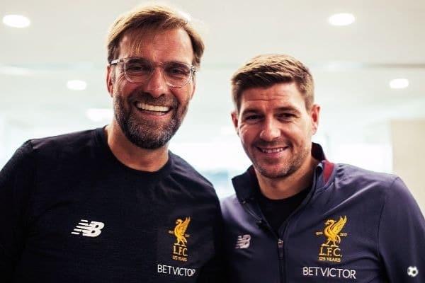 Klopp y Gerrard