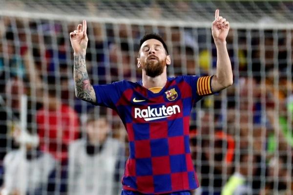 Leo Messi volvió a marcar de falta
