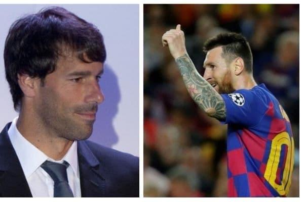 Van Nistelrooy y Messi