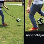 ¿Quieres entrenar como los grandes? Llegó la cuerda elástica para balón que potencia al futbolista moderno