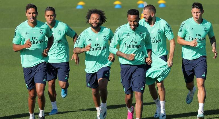KIT entreno REAL MADRID