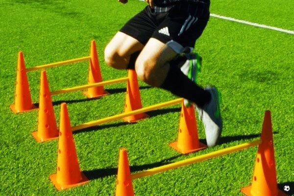 Obstáculos de entrenamiento futbol Boje Sport