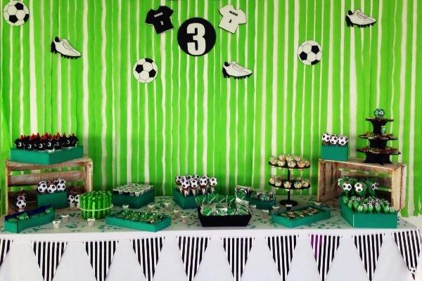 Set para fiestas de fútbol