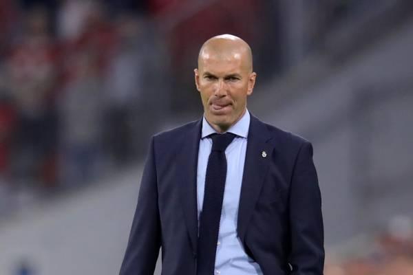 Zinedine Zidane entrenador