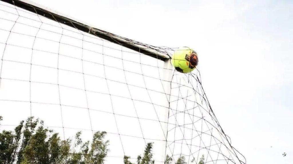 El Kit de fútbol portería y reboteador