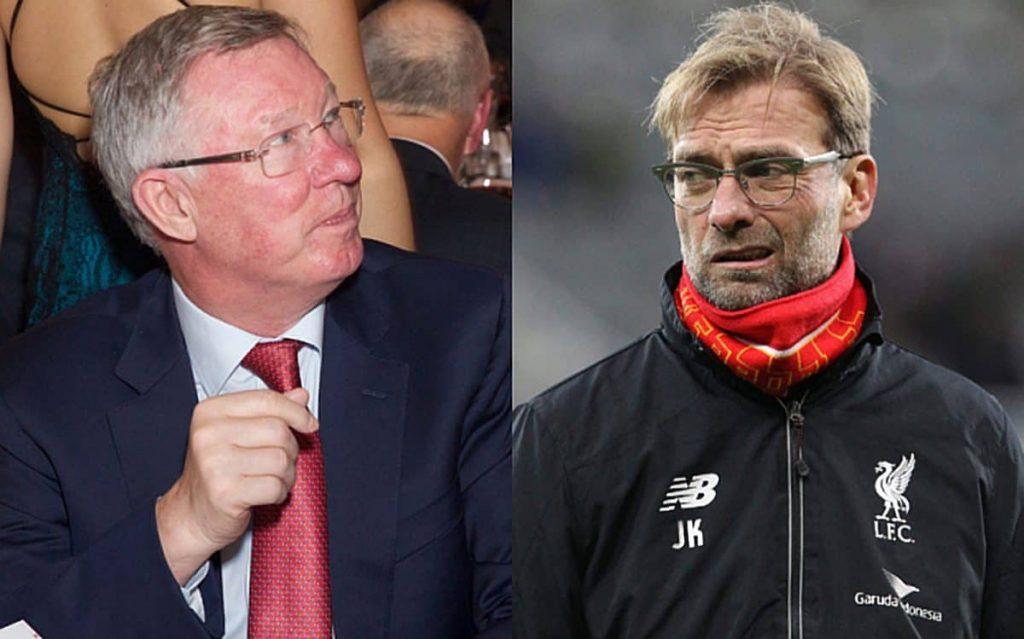 Sir Alex Ferguson y Jurgen Klopp