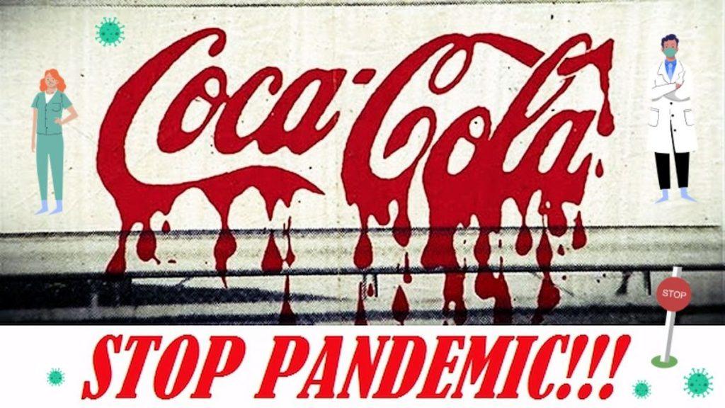 STOP Pandemia COVID vs Coca-Cola