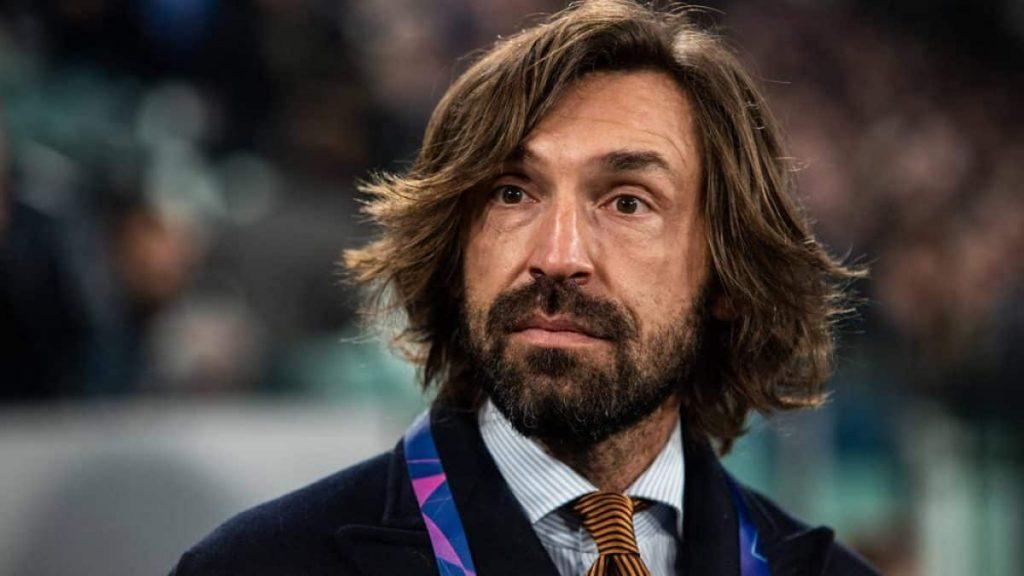 Andrea Pirlo técnico de la Juventus
